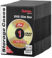 Hama 51182 DVD-Leerhülle Slim 25