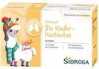 Sidroga Bio Kinder Hustentee Filterbtl. (20 Stk)