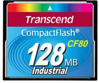 Transcend Compact Flash Card 128 MB 80x