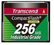 Transcend Compact Flash Card Industrial 256 MB