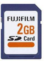 Fujifilm SD Card High Quality 2 GB