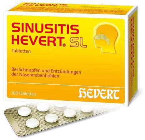 Hevert Sinusitis SL Tabletten (100 Stück)