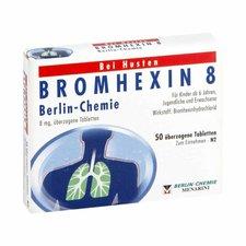 Berlin-Chemie Bromhexin 8 Berlin Chemie (50 Stück)
