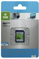 CnMemory SD Card Silver 2 GB 60x