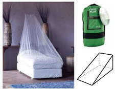 Care Plus Mosquito Net Wedge LLI