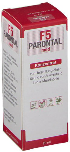 Pharma Wernigerode Parontal F5 Med. Loesung (20 ml)
