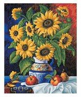 Schipper Malen nach Zahlen Sonnenblumen 40 x 50 cm
