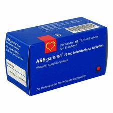 Wörwag Ass Gamma 75 mg Tabletten (100 Stück)