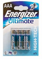 Energizer 4x AAA / LR03 Ultimate