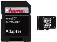 Hama microSDHC Card Class 2 4 GB