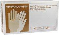 DAHLHAUSEN Handschuhe Latex Gr. XL ungepudert (100 Stk.)