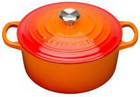 Le Creuset Tradition Bräter 28 cm rund ofenrot