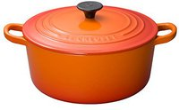 Le Creuset Tradition Bräter 22 cm rund ofenrot