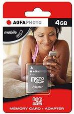 AgfaPhoto microSDHC Card Class 2 4 GB