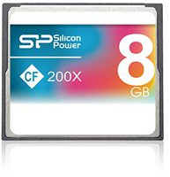 Silicon Power Compact Flash Card Professional 8 GB 200x
