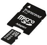Transcend microSDHC Card 4GB Class 6