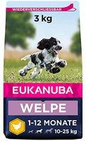 Eukanuba Puppy & Junior Medium (3 kg)