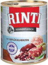 Rinti Pur Kennerfleisch Geflügelherzen (800 g)