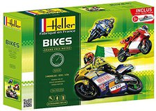 Heller Joustra Set Bikes Grand Prix Motos (52310)