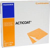 smith & nephew Acticoat 5 x 5 cm Antimikrobielle Wundauflage (5 Stk.)