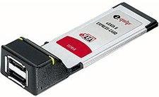 Equip 2-Port ExpressCard 34 eSATA II (111818)