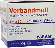 PARAM Verbandmull 5 m gerollt (1 Stk.)