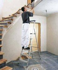 Zarges Z200 Stufen-Stehleiter eloxiert 5 Stufen