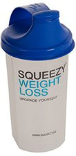 Squeezy Sports Nutrition Athletic Dietary Food Shaker (1 Stk.)