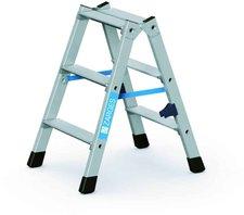 Zarges Z  300 Stufen-Stehleiter 2x3