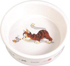 Trixie Keramiknapf mit Motiv, 0,2 l / ø 11 cm