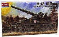 Academy M-12 155mm Gun Motor (1394)