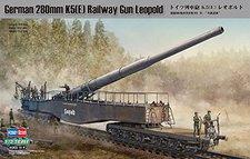 HobbyBoss German 280mm K5(E) Railway Gun Leopold (82903)