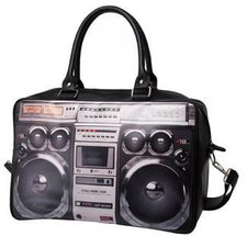 Present Time Weekend Bag Ghetto Blaster
