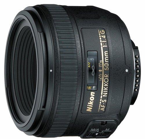 Nikon AF-S Nikkor 50mm f1.4 G