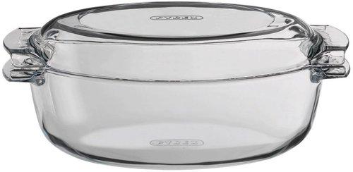 Pyrex Bräter Oval 4,5 Ltr. mit Deckel