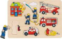goki Steckpuzzle Feuerwehr