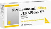 mibe Nicotinsaeureamid 200 mg Jenapharm Tabl. (10 Stk.)