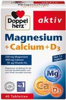 Doppelherz Magnesium + Calcium + D3 Tabl. (40 Stk.)