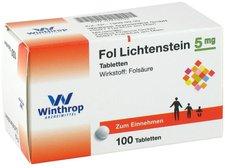 Winthrop Fol Lichtenstein Tabl. (100 Stk.)