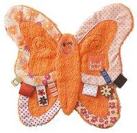 Label-Label Schmusetuch Butterfly Orange