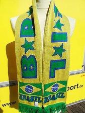 Original Nike  Fanschal Brasilien  NEU Brasil Fußball