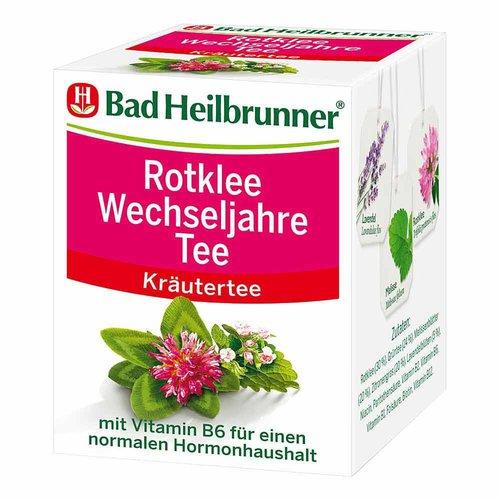Bad Heilbrunner Tee Rotklee Wechseljahre Beutel 8 Stk.