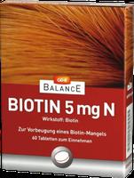 GEHE Balance Biotin 5 Mg N Tabletten (60 Stk.)