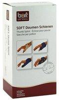 Bort Soft Daumen-Schiene lang blau/schwarz Gr. M