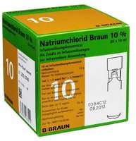B. Braun Natriumchlorid 10% Mpc Elektrolytkonzentrat 20 x 10 ml