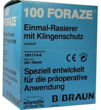 B. Braun Foraze Einmal Rasierapparat (100 Stk.)