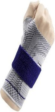 Bauerfeind Manutrain Handgelenkbandage 3 Rechts Titan