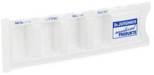 Dr. JUNGHANS Medikamenten Dispenser Kst. M. Abdeckung (1 Stk.)