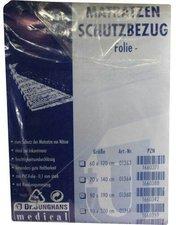 Dr. JUNGHANS Matratzen-Schutzbezug Folie 0,1 mm Weiss (90 x 190 cm)