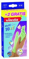 Vileda Einweg Gummi Handschuh Multicare 10+2 S/M